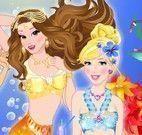 Roupas das sereias princesas