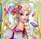 Vestir e maquiar Elsa cigana