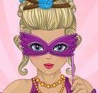 Vestir menina carnavalesca