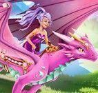 Cuidar da princesa e o dragão