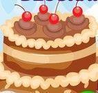 Decoração do bolo da menina