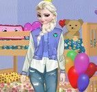 Elsa adolescente decorar quarto