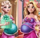 Elsa e Rapunzel presente dos bebês
