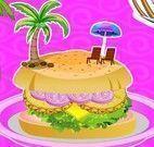 Fazer receita de hambúrguer Hawaii