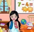 Limpar escola pequena princesas