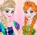 Princesas Frozen baile vestir