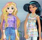 Princesas roupas emojis