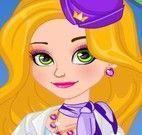 Rapunzel aeromoça