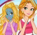 Rapunzel limpeza facial mágica