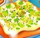 Receita de pizza quadrada