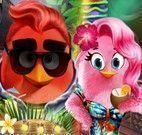 Angry Birds roupas do verão