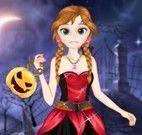 Anna e Elsa roupas de halloween