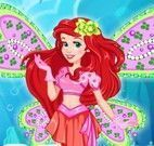 Ariel moda fada winx