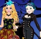 Branca de Neve e Elsa Halloween Fantasias