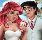 Casamento Ariel e Elsa vestir