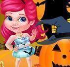 Decorar abóbora do Halloween