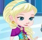 Elsa cuidar do machucado