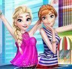 Elsa e Anna divã