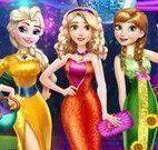 Elsa, Rapunzel e Anna na balada