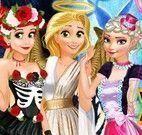 Fantasias de Halloween das princesas