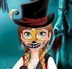 Máscaras de Halloween da Anna