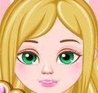 Pentear cabelo da Barbie