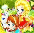 Piquenique Anna e Elsa