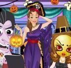 Vestir menina para o Halloween