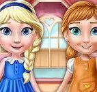Anna e Elsa princesas decorar quartos
