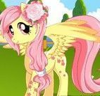 Banho da My Little Pony e moda