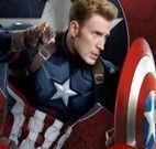 Capitão America quebra cabeça