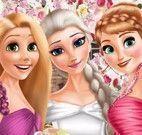 Elsa casamento vestir
