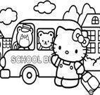 Imagens de colorir Hello Kitty