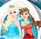 Maquiar Anna e Elsa