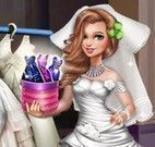 Noiva moda vestido