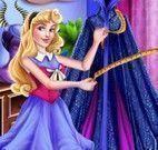 Princesa Aurora roupas de vilã
