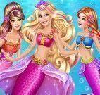 Princesas sereia Barbie e amigas