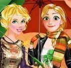 Rapunzel e Aurora moda outono inverno