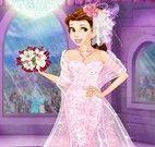 Vestido de noiva da princesa Bela