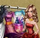 Vestidos de glamour da garota