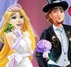 Vestir Rapunzel e noivo