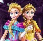 Anna e Elsa moda baile