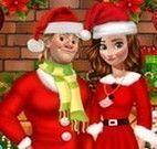 Anna e Kristoff natal
