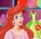 Ariel comprar na loja da Elsa