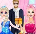 Barbie e Elsa moda
