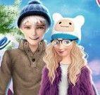 Casais Frozen vestir