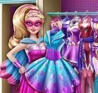 Closet da Super Barbie