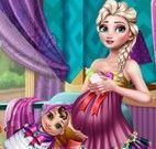Elsa grávida roupas