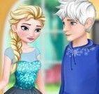Elsa jantar com Jack