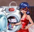 Miraculous lavar roupas